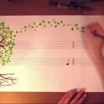 Esta Fascinante pintura Musical nos lembra por que vale a pena proteger a Terra