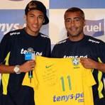 """Em entrevista, o baixinho Romario diz que """"Neymar tem tudo para ser maior do que Messi"""""""