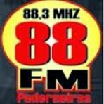 Rádio 88 FM 88,3 ao vivo e online Pederneiras SP