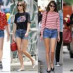 Shorts jeans retro