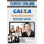 Curso Preparatório Online Concurso Caixa Econômica Federal Técnico Bancário Novo - Revisão Geral, Conhecimento Bancário
