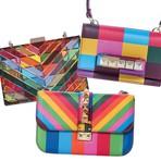 Moda & Beleza - Conheça a coleção de bolsas multicoloridas da Valentino