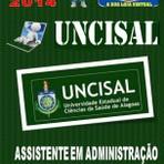 Apostila do Concurso Publico Uncisal Assistente em Administracao 2014