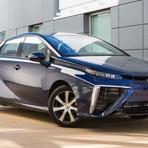 TOYOTA MIRAI é o primeiro carro a hidrogênio