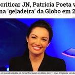 Patrícia Poeta vai ficar na 'geladeira' da Globo.