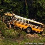 Internacional - Acidente de ônibus causa mortes em Honduras