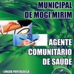 APOSTILA PREFEITURA DE MOGI MIRIM AGENTE COMUNITÁRIO DE SAÚDE 2014