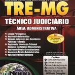 Apostila Impressa para o Concurso TRE-MG 2015 - Técnico Judiciário - Área Administrativa