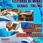 Apostila Digital TREMG Concurso 2014 - Técnico Judiciário - (Área Administrativa) Grátis CD