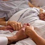 Levando esperança a doentes terminais.