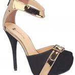 Diversos - Lindos modelos de sandálias meia pata, charme e elegância!