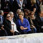 Saúde - Dilma vela corpo do ex-ministro Thomaz Bastos