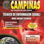 Apostila Impressa Prefeitura de Campinas 2014 - Técnico de Enfermagem