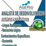 Apostila ANALISTA DE DESENVOLVIMENTO - Concurso AGERIO