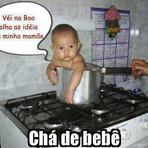Chá de bebê: Olha as ideias dessa mãe kkk