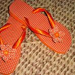 Hobbies - Sandálias Customizadas com Fitas e Tecido para Presentear