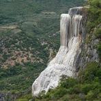 As Lindas cachoeiras Petrificadas de Hierve el Agua