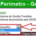 GEORREFERENCIAMENTO INCRA SIGEF - COMO CONFIGURAR PLANILHA SISTEMA SEGEF - INCRA
