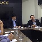 Tony Gel apresenta propostas para novo mandato aos diretores da ACIC