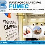 Concurso Público CEPROCAMP e Fumec - Centro de Educação Profissional de Campinas - edital 2014
