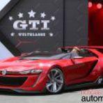 Automóveis - Volkswagen GTI Roadster Concept do Gran Turismo 6 aparece em LA