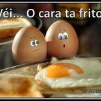 Véi.. o cara ta frito: Velório de ovos kkk