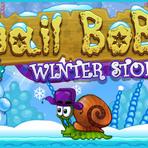 Jogos - Snail Bob 6: Winter Story – Jogar online