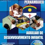 Concursos Públicos - Apostila (ATUALIZADA) AUXILIAR DE DESENVOLVIMENTO INFANTIL - Concurso Prefeitura do Recife