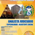 Concursos Públicos - Apostila (ATUALIZADA) ANALISTA JUDICIÁRIO ASSISTENTE SOCIAL - Concurso Tribunal de Justiça do Estado / RJ