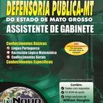 Apostila Concurso DPE-MT 2014 - Assistente de Gabinete