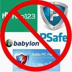 Como remover o Babylon, PSafe, Hao123, Ask Tolbar, Iminent, Snap.do e Funmoods