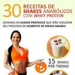 Saúde - Alimentação Saudável - Shakes