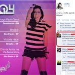 Menino desafia Anitta em uma foto que a cantora posta em sua pagina do Facebook
