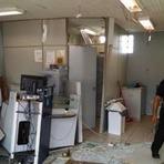 Blogueiro Repórter - Bandidos armados com fuzil explodem Banco do Brasil na região de Pitanga