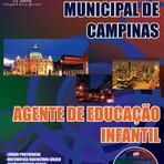 Apostila (ATUALIZADA) AGENTE DE EDUCAÇÃO INFANTIL - Concurso Prefeitura Municipal de Campinas