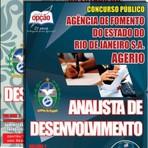 Apostila para o concurso do AGERIO Cargo - Analista De Desenvolvimento