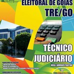 Apostila Concurso Tribunal Regional Eleitoral de Goiás 2014 - Técnico Judiciário - Área Administrativa