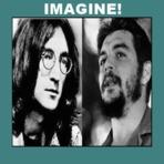 Política - Imagine John Lennon e Che Guevara