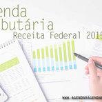 AGENDA TRIBUTÁRIA RECEITA FEDERAL 2015