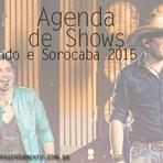 Entretenimento - AGENDA FERNANDO E SOROCABA 2015