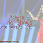 AGENDA IVETE SANGALO 2015