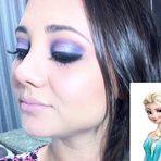 Get ready with me #2: Maquiagem inspiração na Elsa do Filme Frozen por Pabline Torrecilla