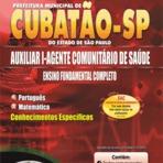 Concursos Públicos - Apostila Concurso Prefeitura de Cubatão - SP 2014