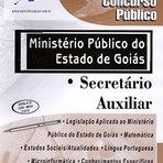 Concursos Públicos - Apostila Concurso Ministério Público - GO - Secretário Auxiliar