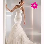 Diversos - Vestido de noiva justo