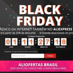 Black Friday no AliExpress