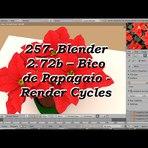 Educação - 257- Blender 2.72b – Como fazer Bico de Papagaio