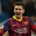 Barça vence, Messi faz 3 e bate recorde de gols