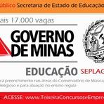 Concurso Público SEPLAG/Governo de Minas Gerais da Secretaria de Estado de Educação (SEE/MG)