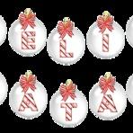 Softwares - Letras Feliz Natal-Bolinha branca